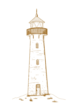 security lights: lighthouse