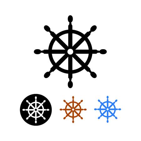 ship steering wheel: Ship steering wheel