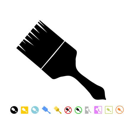 unused: paintbrush icon Illustration