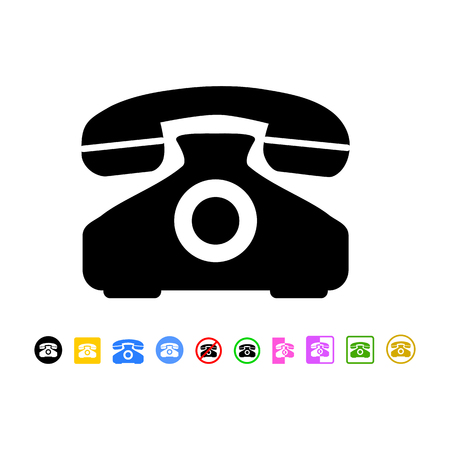 phone icon: phone icon Illustration
