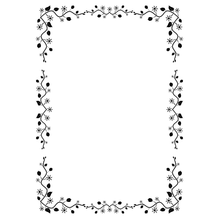 Decorative frame and border