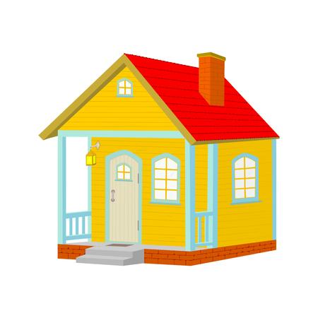 hamlet: Cute fairytale house