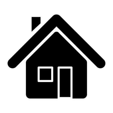 Stay at home icon. Vector illustration.
