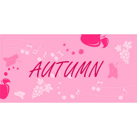 Autumn background layout banners design. Horizontal poster, greeting card, header for website