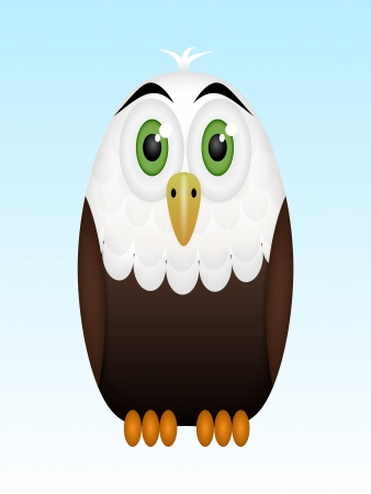 Whitehead eagle Vector