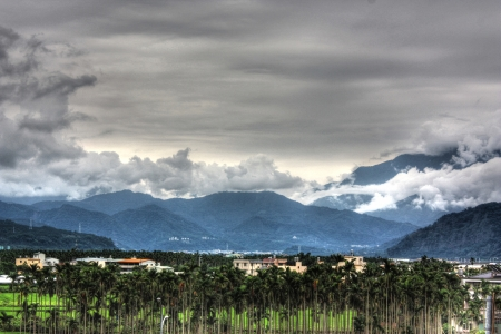 Mountain in the clouds Stock Photo - 17278248