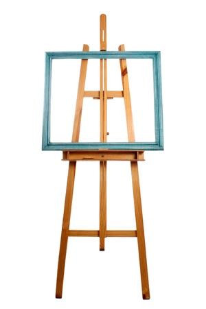 patina: Photo of Easel and patina frame