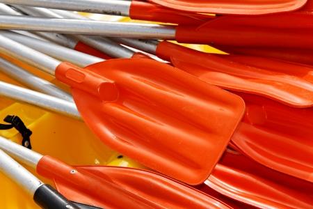 paddles: Kayak paddles
