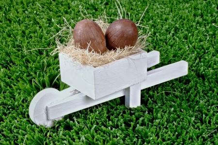 pushcart: chocolate and pushcart