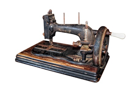 Antique sewing machine a great image for your job  photo