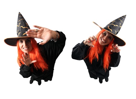 Witch no-spell and spell photo