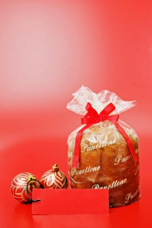 Food theme: Panettone photo