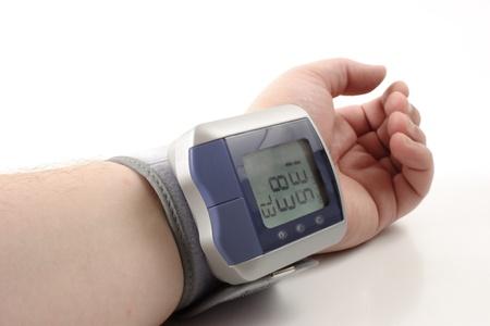 diastolic: Photo of Digital blood pressure monitor