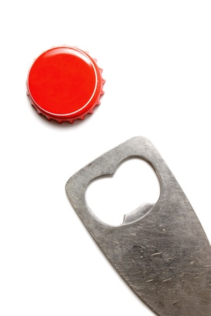bottle cap opener: Photo of Opened