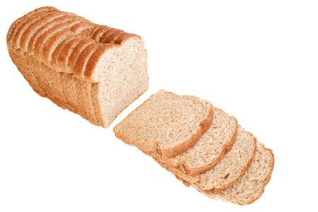 alimentary: Photo of Bread slices Stock Photo