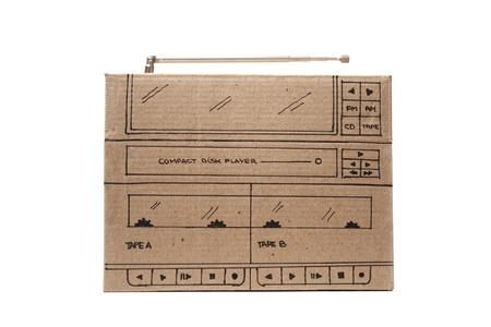 Photo of Cardboard stereo photo