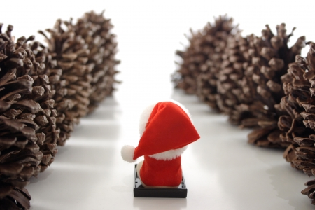Photo of Go Santa! Stock Photo - 18600030