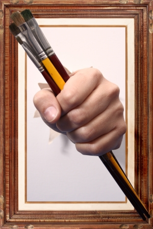 Photo of Paint me! Stock Photo - 18601426