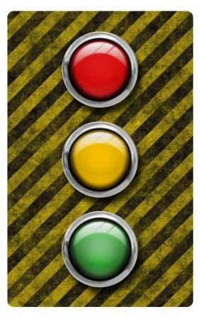 Traffic light illustration Stock Illustration - 18602213