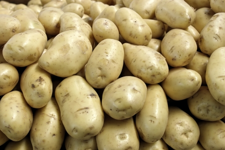 Potatoes produce detail Stock Photo - 18600125