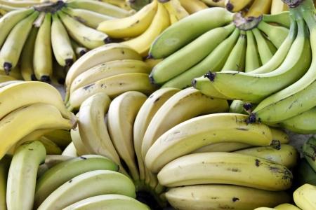 Groceries - Banana produce Stock Photo - 18600402
