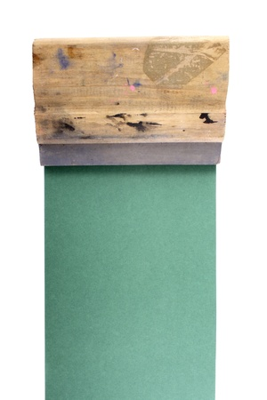 printmaking: Photo of Serigraphy