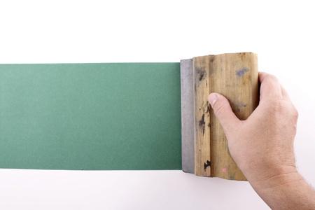 silk screen: Photo of Printmaking