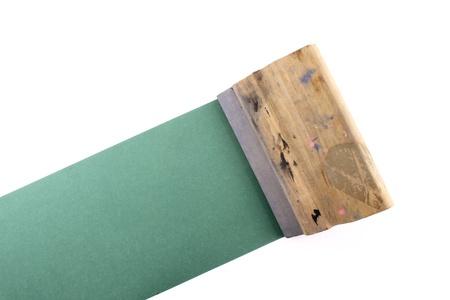 printmaking: Photo of Squeegee Stock Photo