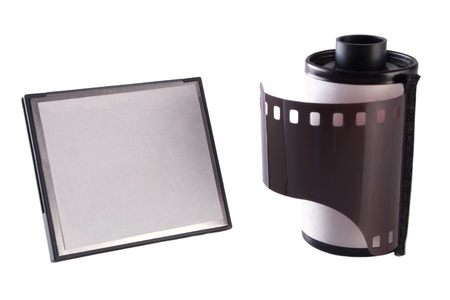 fash: Photo of Memory card and film roll