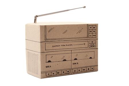Photo of Cardboard Boom box photo