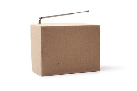 Photo of Cardboard radio photo
