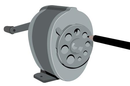 sharpener: Photo of Retro Sharpener (illustration) Stock Photo