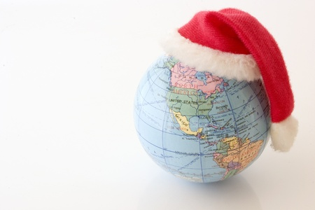 Photo of Christmas Globe - North and South Americas photo