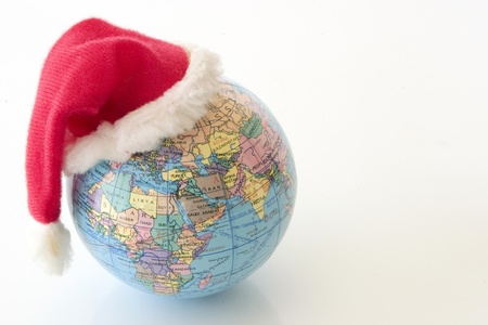 Photo of Xmas Globe - Africa and Asia Stock Photo - 19003422