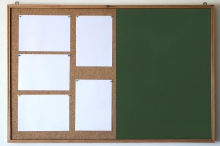 Photo of Cork/Chalk board Stock Photo - 19003307