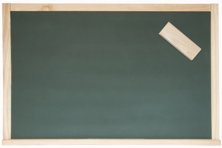 Photo of Blackboard and eraser Stock Photo - 19003094