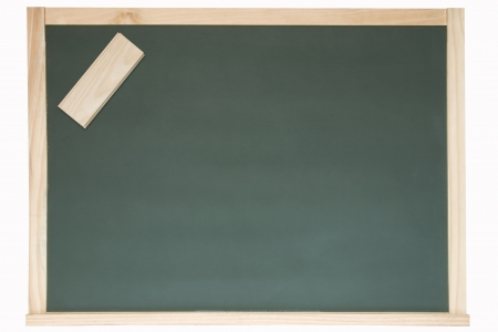 Photo of Chalkboard and eraser Stock Photo - 19003062