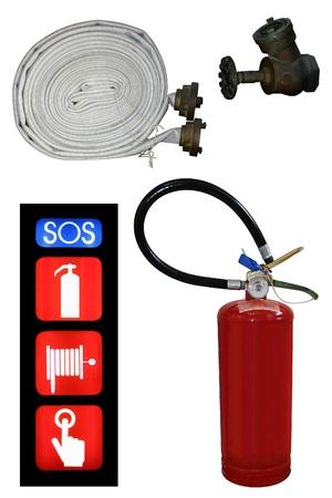 Photo of Extinguisher set photo