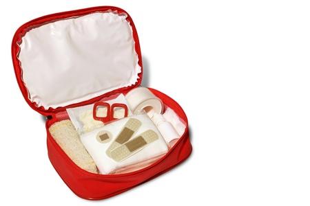 first aid kit: Foto de kit de primeros auxilios