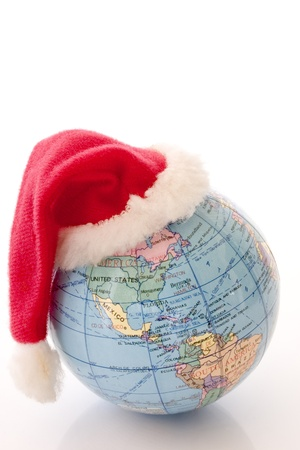 Photo of Xmas planet - North and South Americas Stock Photo - 19003321