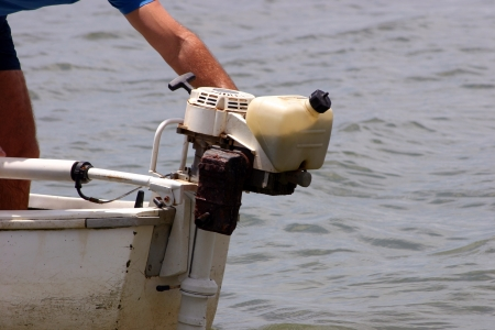 outboard: Photo of Outboard motor