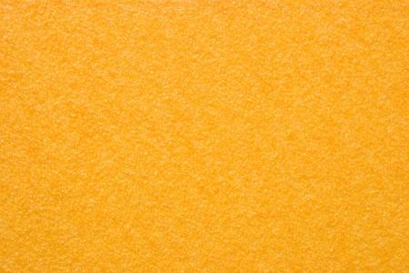サンドペーパー - 黄色 (テクスチャ) の写真