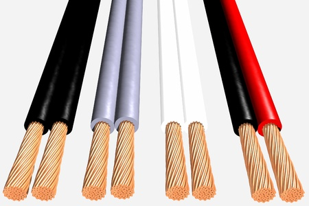 Photo of Flexible cables 3D Stock Photo - 19003065
