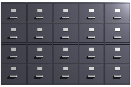 Photo of File cabinets (3D) Stock Photo - 19003403