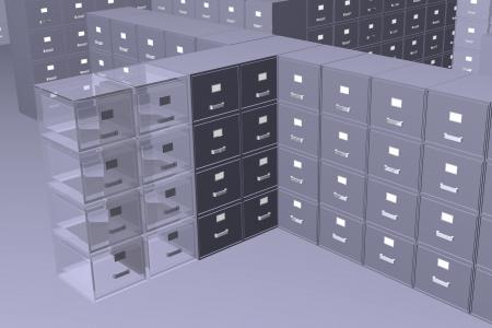 storeroom: Photo of Hidden files (3D)