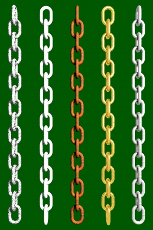 Photo of Chains (3D) Stock Photo - 19003048