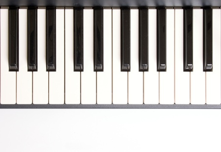 piano keyboard: Photo of Learning how to play piano