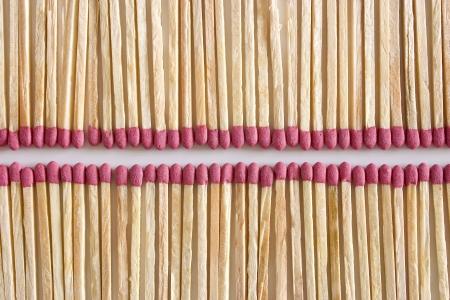 aligned: Photo of Aligned Matches Stock Photo