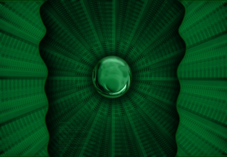 nonsense: Abstract green Background