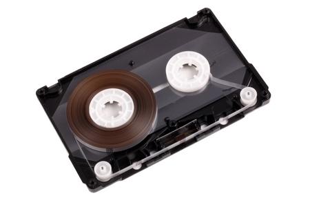 audio cassette: Photo of audio cassette interior